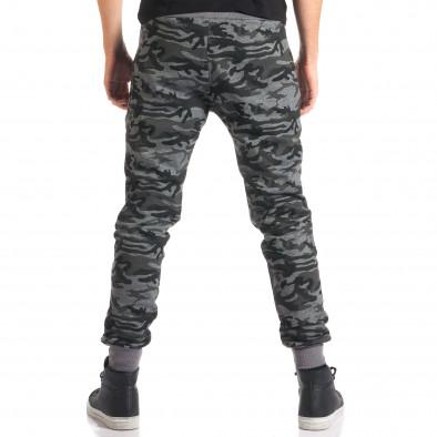 Pantaloni bărbați New Mentality camuflaj ca280916-10 3