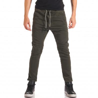 Pantaloni bărbați Y-Two verzi it150816-10 2