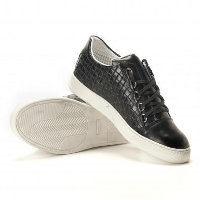 Teniși bărbați Shoes in Progress negri it100317-19 4