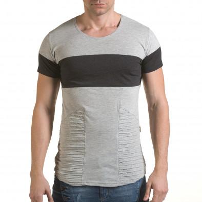 Tricou bărbați Click Bomb gri il170216-73 2