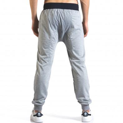 Pantaloni baggy bărbați Realman gri it110316-8 3