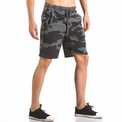 Pantaloni scurți bărbați Top Star camuflaj ca050416-47 4