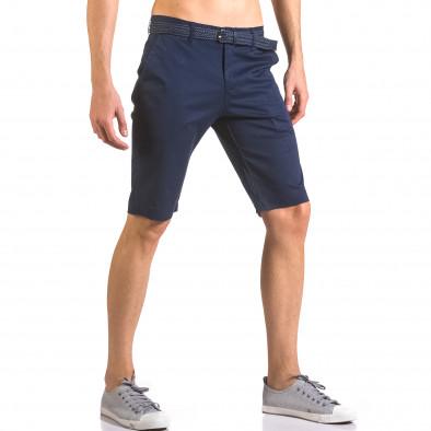 Pantaloni scurți bărbați Baci & Dolce albaștri ca050416-58 4