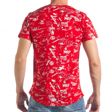 Tricou bărbați Breezy roșu tsf290318-28 3