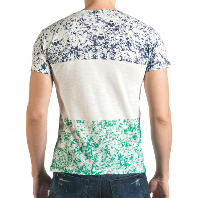 Tricou bărbați Lagos alb il140416-60 3