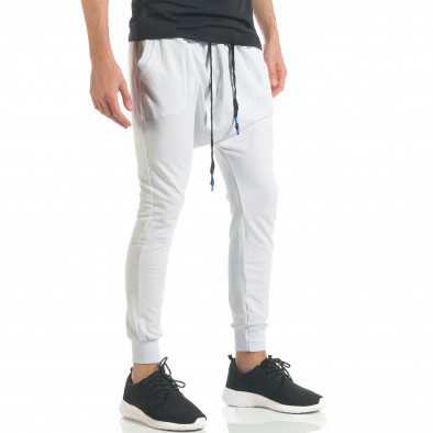 Pantaloni baggy bărbați Black Fox albi it300317-23 3