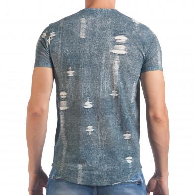Tricou bărbați SAW albastru il060616-30 3