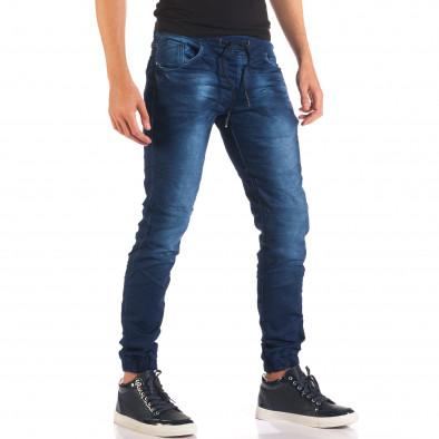 Blugi bărbați Flex Style albaștri it150816-28 4