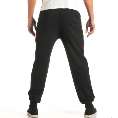 Pantaloni bărbați RHUM22 negru it191016-33 3
