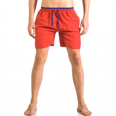 Costume de baie bărbați Yaliishi roșu ca050416-27 2