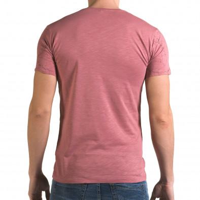 Tricou bărbați Lagos roz il120216-6 3