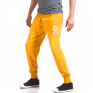 Pantaloni bărbați Franklin galben il170216-133 4