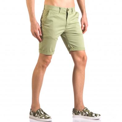 Pantaloni scurți bărbați XZX-Star verzi ca050416-63 4