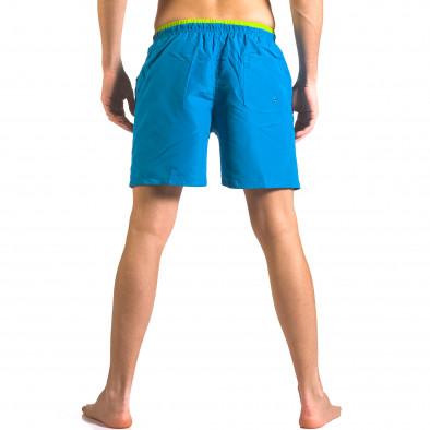 Costume de baie bărbați Yaliishi albastru ca050416-24 3