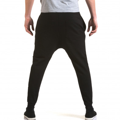 Pantaloni baggy bărbați G.Victory negri it090216-61 3