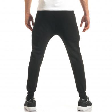Pantaloni bărbați ChRoy negru it140317-68 3