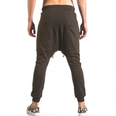 Pantaloni baggy bărbați Devil Slayer maro ca050416-48 3