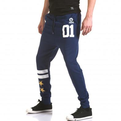 Pantaloni bărbați Franklin albastru il170216-138 4