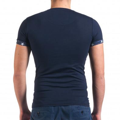 Tricou bărbați SAW albastru il010416-2 3