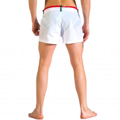 Costume de baie bărbați Justboy alb it250416-61 3
