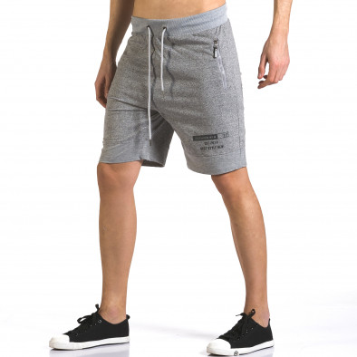 Pantaloni scurți bărbați Furia Rossa gri it110316-76 4
