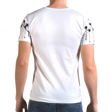 Tricou bărbați Lagos alb il120216-40 3