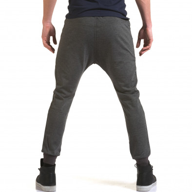 Pantaloni baggy bărbați Jack Berry gri it090216-49 3