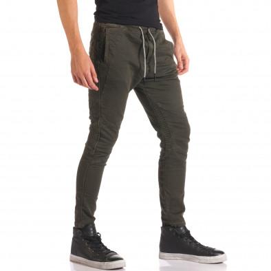 Pantaloni bărbați Y-Two verzi it150816-10 4