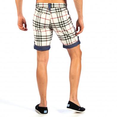 Pantaloni scurți bărbați Open Jeans curcubeu il130613-1 4