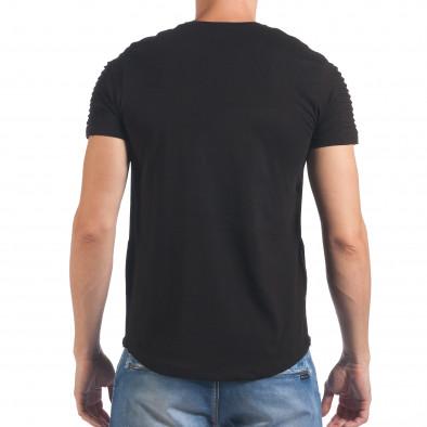 Tricou bărbați SAW negru il060616-23 3