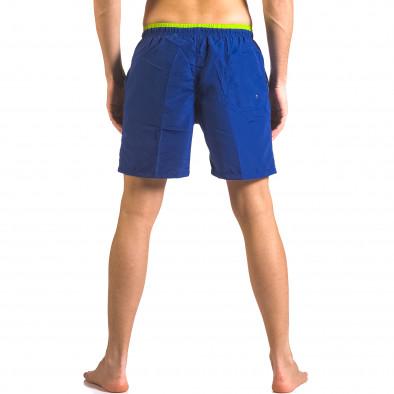 Costume de baie bărbați Yaliishi albastru ca050416-26 3
