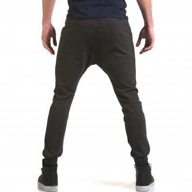 Pantaloni baggy bărbați Jack Berry gri it090216-50 3