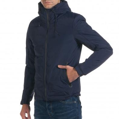 Geacă de iarnă bărbați Yes Design albastră it191016-98 4