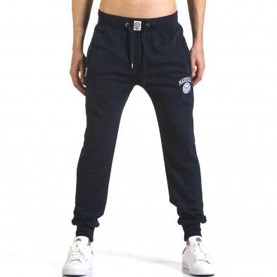 Pantaloni bărbați Marshall albastru it110316-13 2