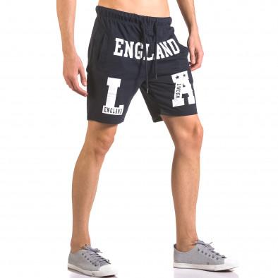 Pantaloni scurți bărbați Furia Rossa albaștri ca050416-36 4