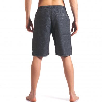 Costume de baie bărbați Austar Jeans gri it250416-45 3