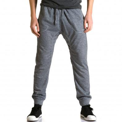 Pantaloni baggy bărbați Dress&GO gri ca190116-28 2