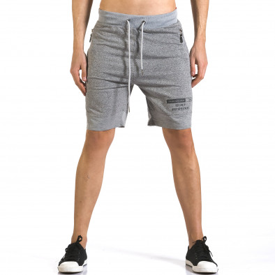 Pantaloni scurți bărbați Furia Rossa gri it110316-76 2