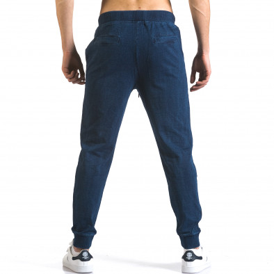 Pantaloni baggy bărbați Enos albaștri it090216-58 3