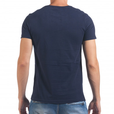 Tricou bărbați Just Relax albastru il060616-9 3