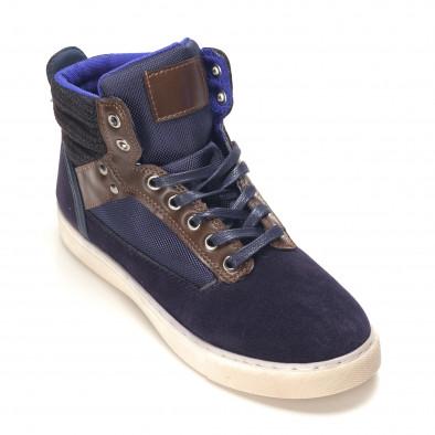 Pantofi sport bărbați Reeca albaștri it100915-21 3