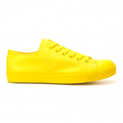 Teniși galbeni pentru bărbați it260117-39 2