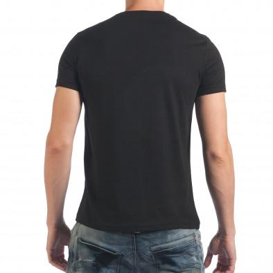 Tricou bărbați Just Relax negru il060616-4 3