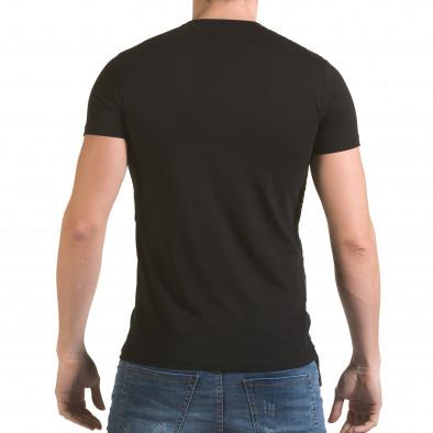 Tricou bărbați SAW negru il170216-63 3