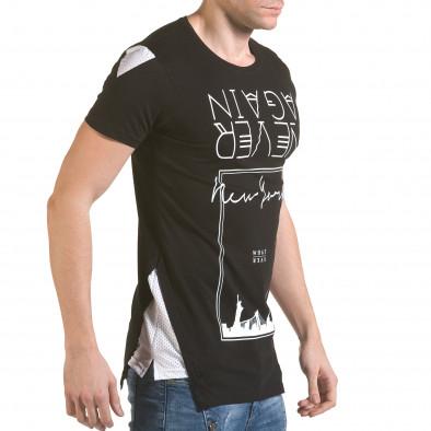 Tricou bărbați SAW negru il170216-60 4