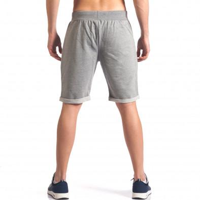 Pantaloni scurți bărbați New Men gri it260416-28 3
