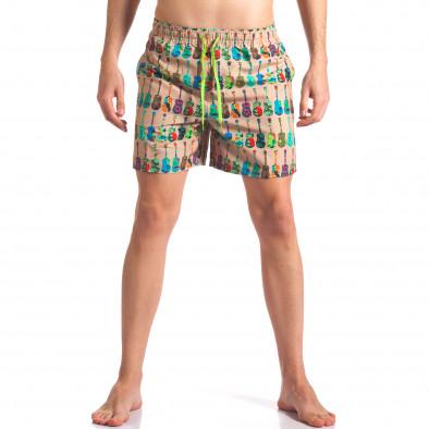 Costume de baie bărbați Y Chromosome bej it260416-45 2