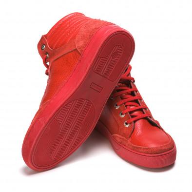 Pantofi sport bărbați Martin Pescatore roșii It050216-4 4