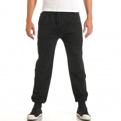 Pantaloni bărbați RHUM22 negru it191016-33 2