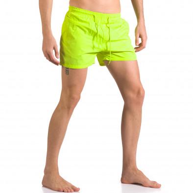Costume de baie bărbați Bitti Jeans verde ca050416-3 4